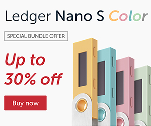 Ledger Nano S - The secure hardware wallet